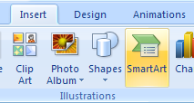 Create a SmartArt Graphic