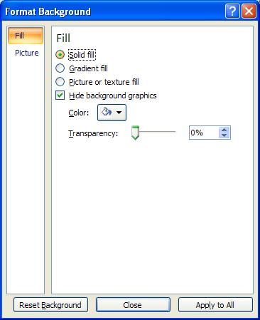 background powerpoint 2007