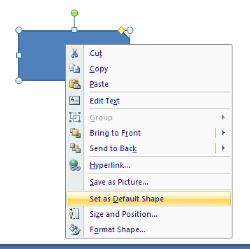 Customize the Way You Create Shape Objects