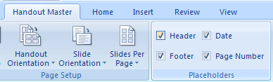 Select or clear the Header, Slide Image, Footer, Date, Body or Page Number check boxes to show or hide notes master placeholders.