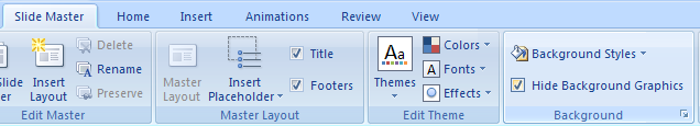 Select the Hide Background Graphics check box.