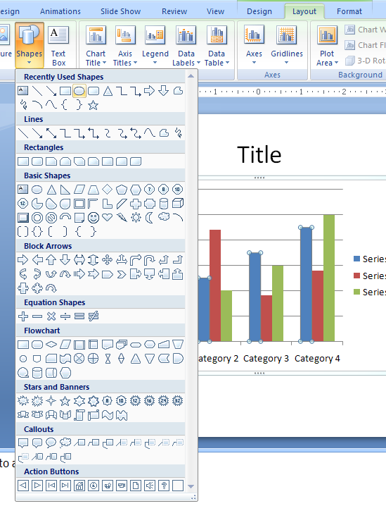 Diagram in powerpoint 2007 image collections how to for Table design tab excel