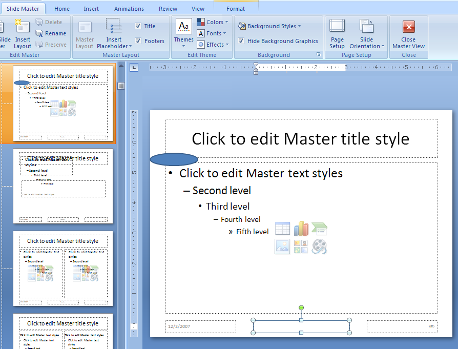 microsoft office and open slide master Creating a slide master in powerpoint is like making a custom design template use a theme, set up a slide style, and apply it to your slide show.