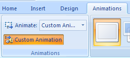 Modify the Animation Order