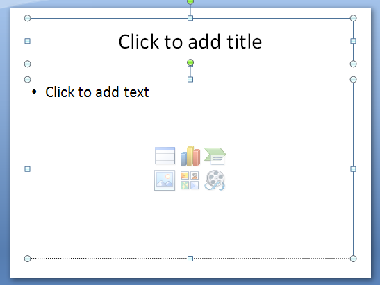 Press Ctrl+A to select all objects on a slide.