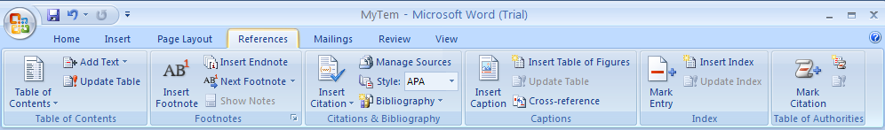 Add a Citation and Source to a Document