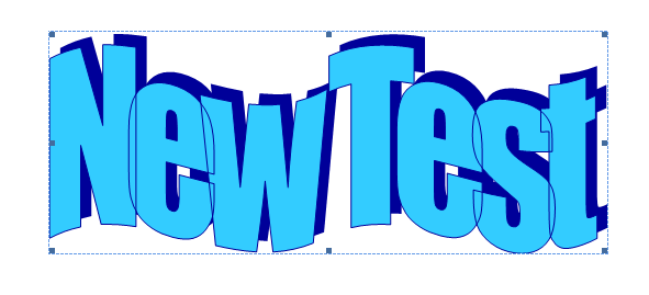 Add more formatting to WordArt text