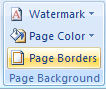 Then click the Page Borders button.