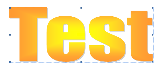 Apply an Outline to WordArt Text