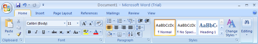 Change Office Clipboard options