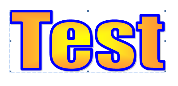 Change the shape of WordArt text