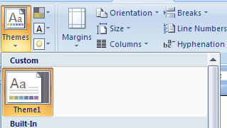 how to create a custom style in word 2007