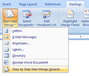Create Labels Using Mail Merge