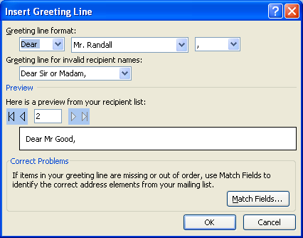 word 2007 greeting card
