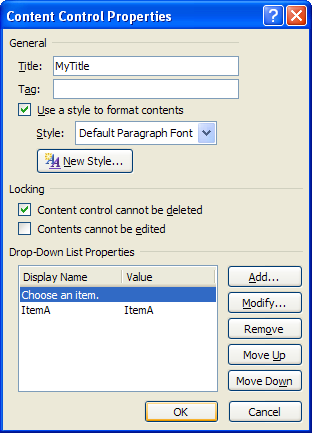 word 2007 to do list