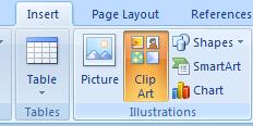 Locate and Insert Clip Art : Clip Art « Shape Picture ...