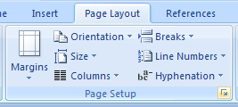 Make the default print settings for all new documents