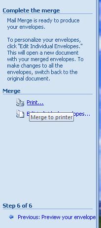 mail merge in word 2007 step by step pdf