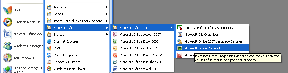 office publisher 2007