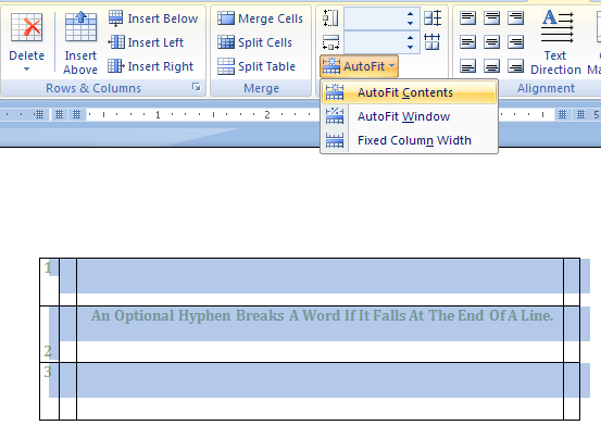 Then click AutoFit to Contents or AutoFit to Window.