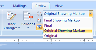how to delete markups in word