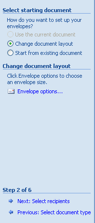 Select the type of document.