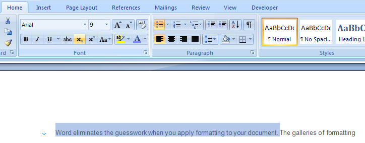 ... To Change Text Alignment Formatting In Ms Word 2007 | Apps Directories