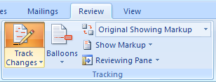 how to add comments in word track changes