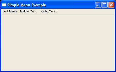 Add menu item