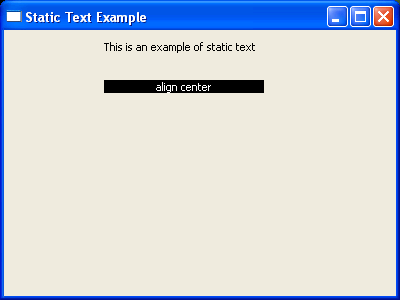 Center a text