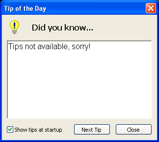 Create tip