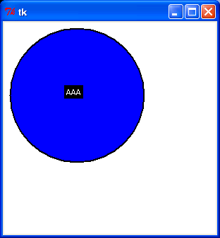 Draw oval : Canvas « Tkinker « Python Tutorial