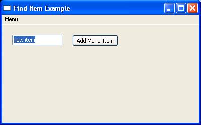 Get selected item