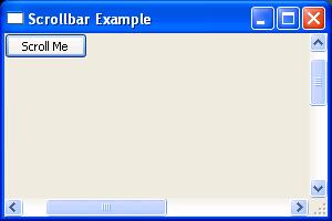 Scrollbar Example