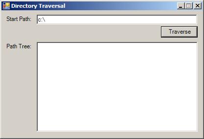 Build file tree recursively