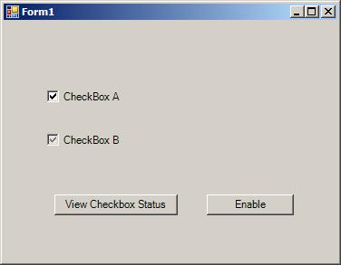 CheckBox Check States