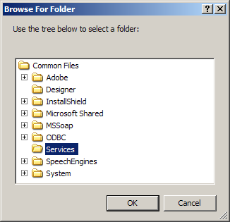Set Properties for FolderBrowserDialog