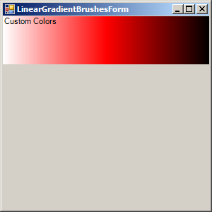LinearGradientBrush: InterpolationColors