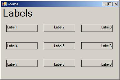 Label TextAlign