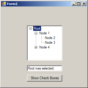 TreeView CheckBox