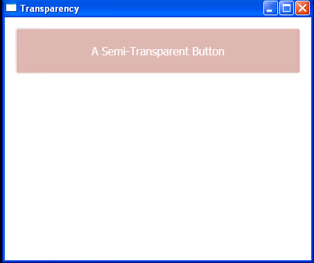 WPF A Semi Transparent Button