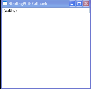 Specify a Default Value for a Binding : Binding « Windows