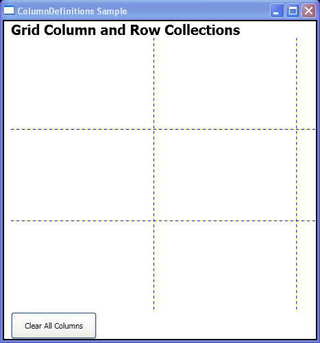 WPF Clear All Columns
