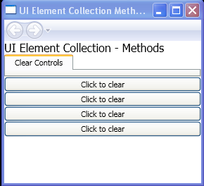 WPF Clear Controls