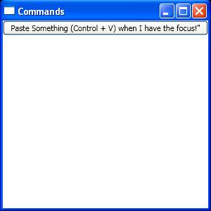 Create CommandBindings in Xaml and bind to Button