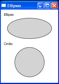 Ellipse Shape and Stroke