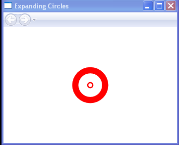 WPF Expanding Circles