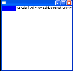 WPF Fill New Solid Color Brush Color From Rgb00255