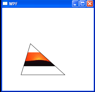 WPF Fill Polygon With Left Aligned Uniform Image Brush