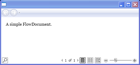 FlowDocument with a Paragraph